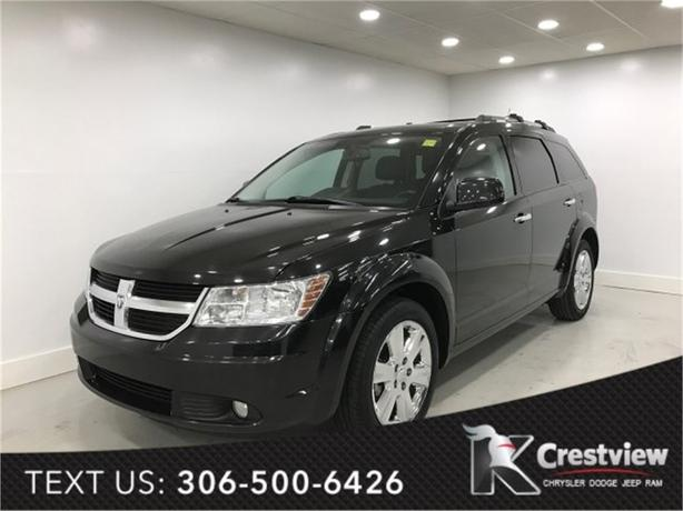 2010 Dodge Journey R/T AWD | Leather | Sunroof | Navigation
