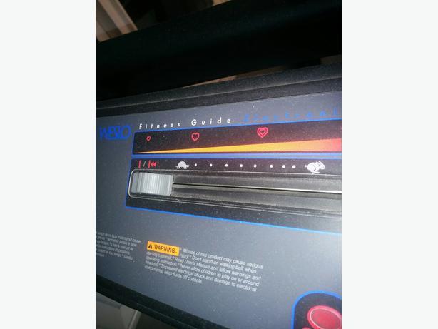 weslo cadence 850 treadmill manual