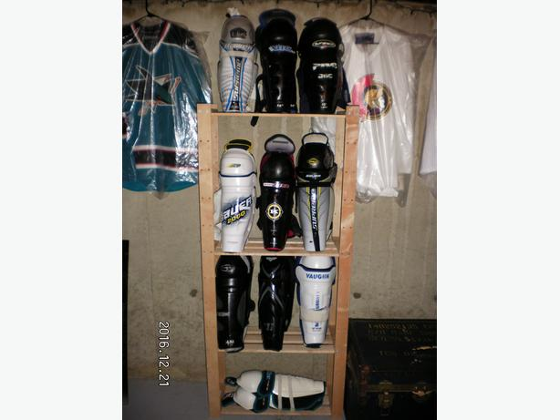 Used Hockey Shin Pads