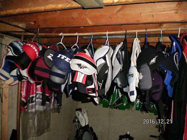 Used Hockey Shoulder Pads