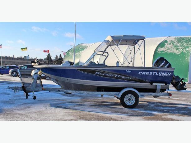 Crestliner 1750 SuperHawk w/115 Mercury Optimax