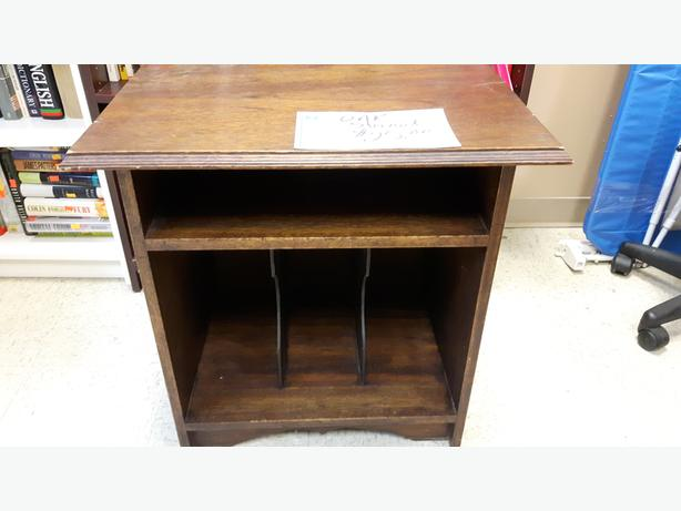 Oak Record Player stand for sale at St Vincent de Paul in ...