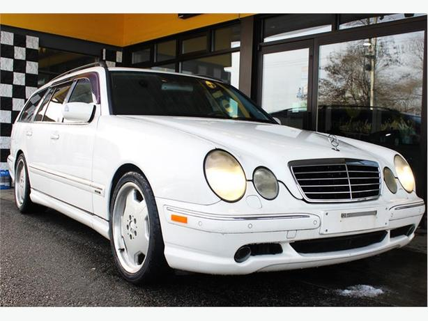 2001 mercedes benz e class e55 wagon amg 127ks leather for Mercedes benz sunroof