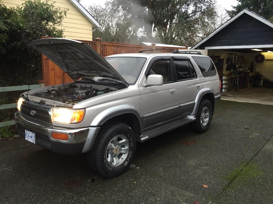1997 toyota 4runner limited excellent shape outside. Black Bedroom Furniture Sets. Home Design Ideas