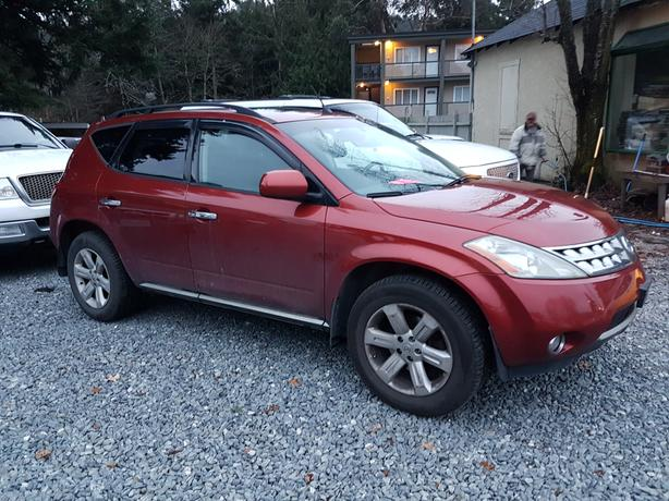 2006 nissan murano sl awd fully loaded west shore langford colwood metchosin highlands victoria. Black Bedroom Furniture Sets. Home Design Ideas