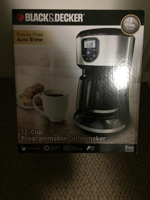 Black And Decker Coffee Maker Spring : NEW in box Black and Decker Coffee Maker Esquimalt & View Royal, Victoria