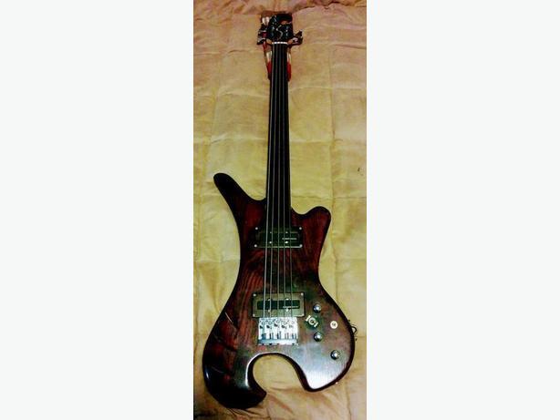 Custom Made 5 String Bass