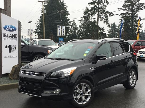 2014 Ford Escape Titanium, Dual Panel Moonroof, AWD