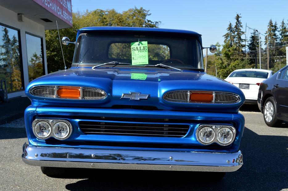 1960 Chevrolet Apache 10 Outside Victoria Victoria