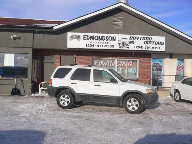 2007 Ford Escape XLT  Front wheel drive