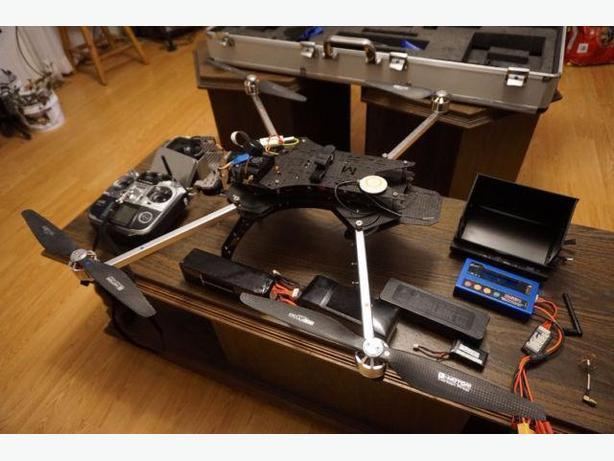 Turbo Ace Matrix-E Multi rotor Pro Camera Platform, DRONE