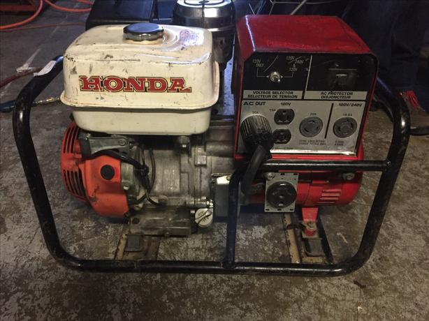 honda eg5000x generator for sale vip pawnbrokers central nanaimo nanaimo. Black Bedroom Furniture Sets. Home Design Ideas