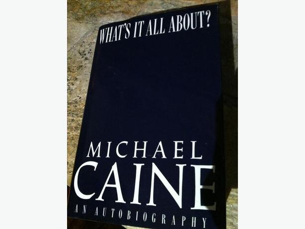 """WHAT'S IT ALL ABOUT?""SIGNED HARDCOVER by MICHAEL CAINE"
