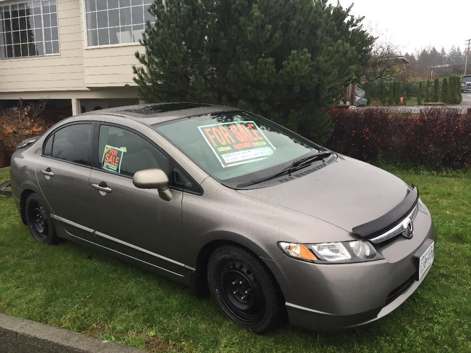 2007 honda civic ex 4 door sedan outside comox valley courtenay comox mobile. Black Bedroom Furniture Sets. Home Design Ideas