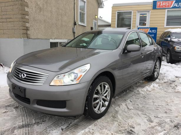 2007 infiniti g35x luxury no accidents all wheel. Black Bedroom Furniture Sets. Home Design Ideas