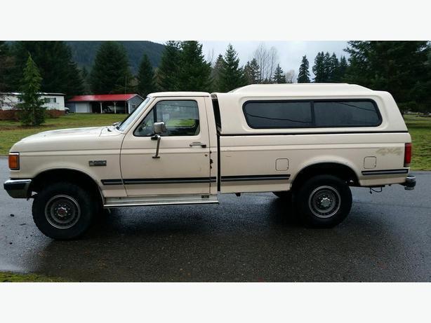 1991 Ford F250 XL 4x4