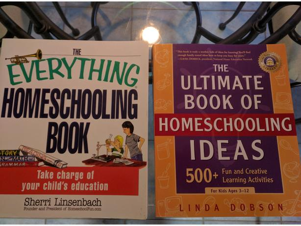 Two Like New Home School Idea Books North Saanich
