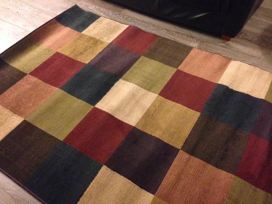 Modern Checkered Area Rug Central Saanich Victoria
