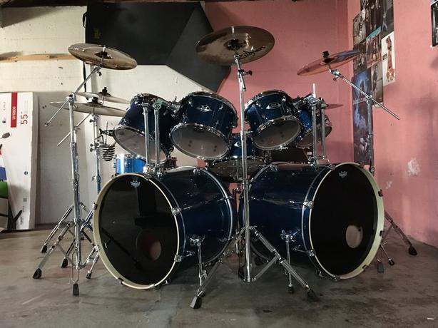 pearl export 9 piece drum set west shore langford colwood metchosin highlands victoria