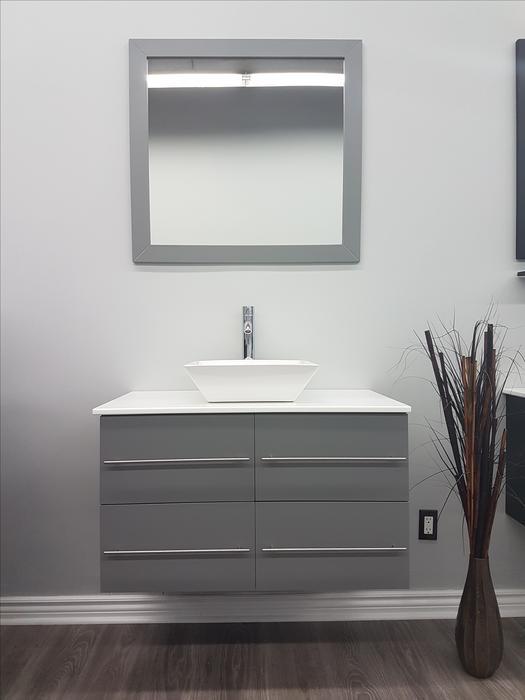 36 Ice Grey Bathroom Vanity Brand New In Box Orleans Ottawa