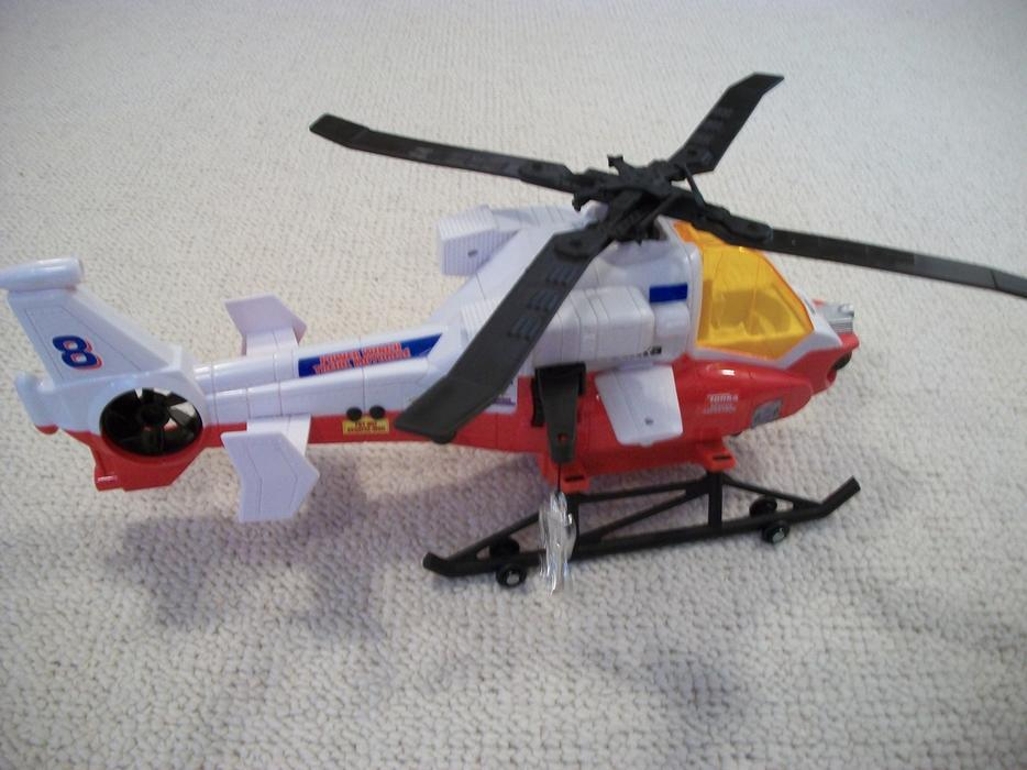 Tonka helicopter rescue