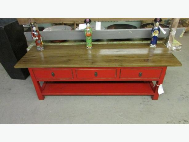 all hand painted furniture 50% off till Xmas and all concrete statues