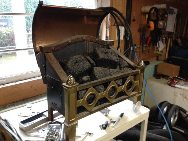 Free Magicoal Electric Fireplace Antique Saanich