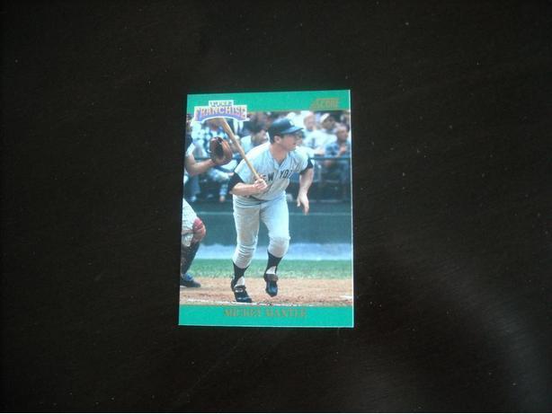 1992 Score Baseball Sub Setmickey Mantle Outside Victoria Victoria