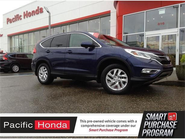 2015 Honda CR-V EX-L CERT - Like new condition with zero (0) icbc