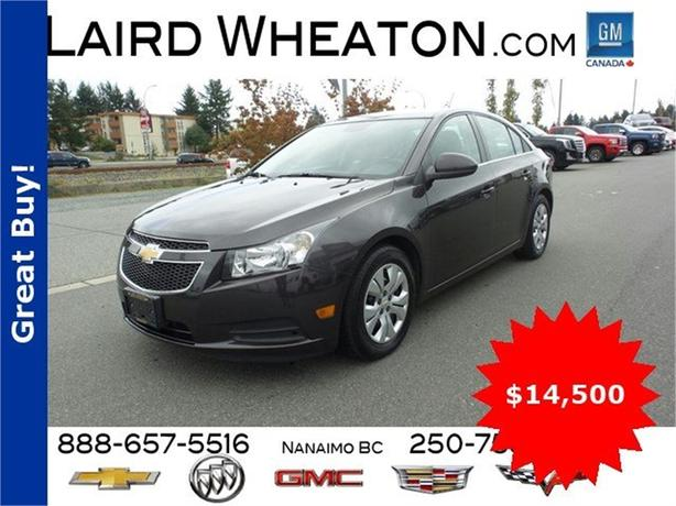 2014 Chevrolet Cruze w/ Bluetooth Connection and Back-Up Camera