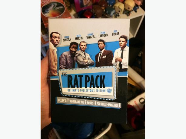 rat pack 4 film collection esquimalt view royal victoria. Black Bedroom Furniture Sets. Home Design Ideas
