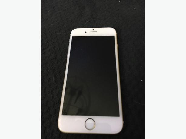 telus gold colored iphone 6. (locked)