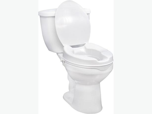 TOILET SEAT RAISED 4 Without Lid Burnaby Incl New Westminster Vanco