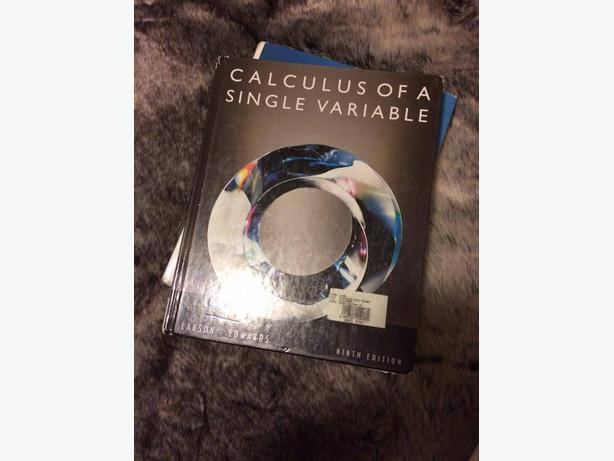 Calculus of a single variable - Ninth edition / Camosun