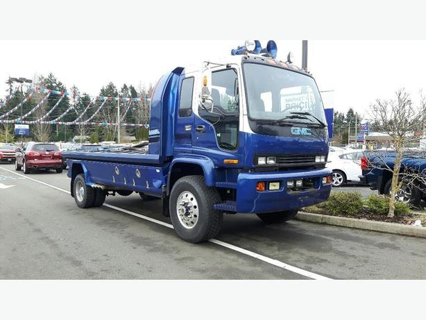 used gmc 1998 t 6500 4x4 truck for sale in parksville outside comox valley courtenay comox. Black Bedroom Furniture Sets. Home Design Ideas