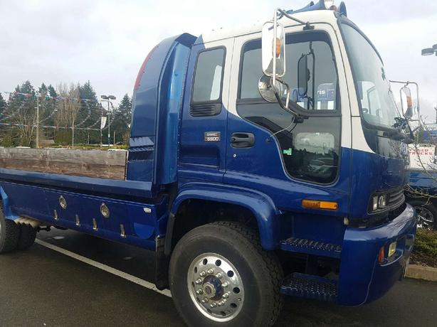 used gmc 1998 t 6500 4x4 truck for sale in parksville outside comox valley courtenay comox mobile. Black Bedroom Furniture Sets. Home Design Ideas