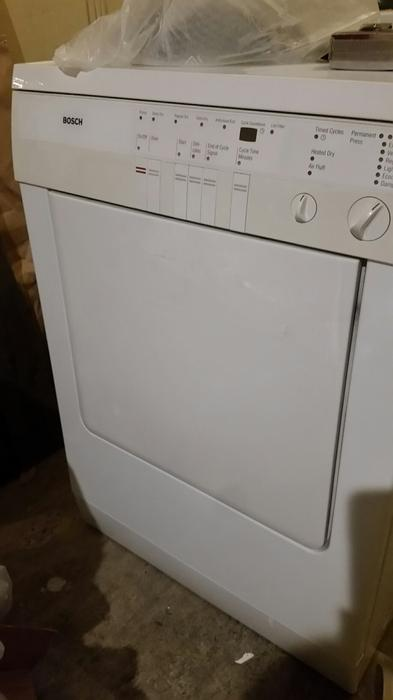 Bosch Washer And Dryer ~ Bosch stackable washer and dryer set victoria city