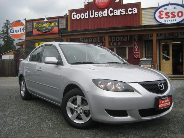 2004 Mazda 3 - 4 cyl Auto A/C