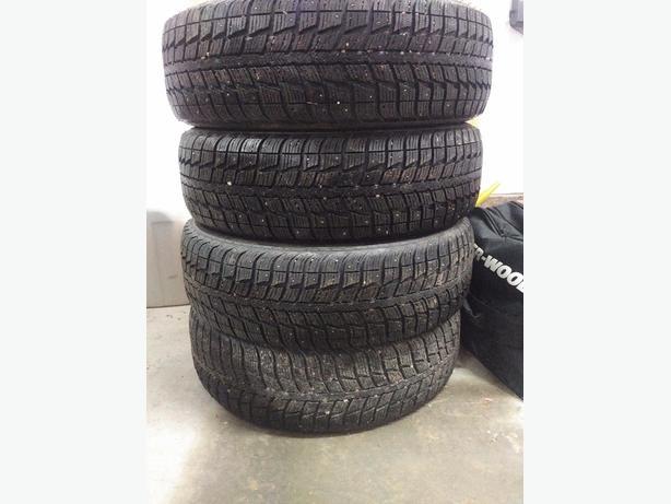 studded winter tires for sale 17 215 65 17 summerside pei mobile. Black Bedroom Furniture Sets. Home Design Ideas
