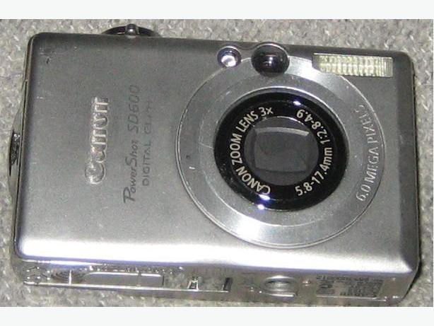 Cannon PowerShot SD600