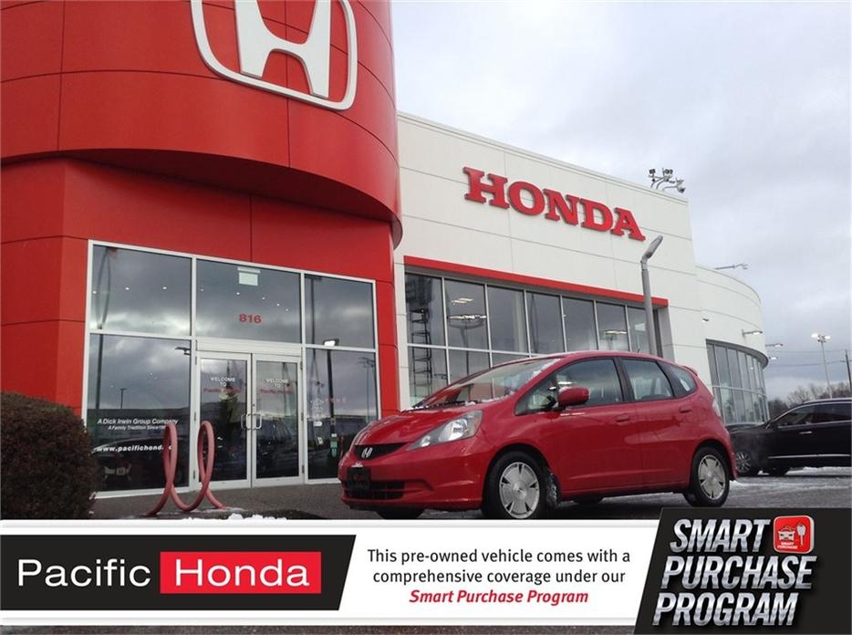 2012 honda fit lx full serviced since new at 1 honda for Honda dealership clearwater