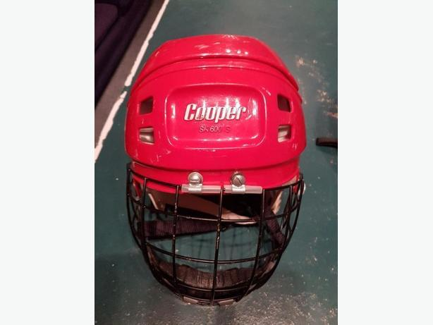 kids hockey helmet