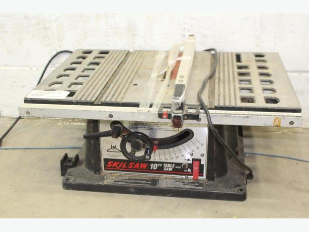 Portable 10 inch skil table saw central ottawa inside for 10 skil table saw