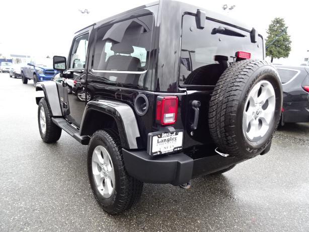 2015 jeep wrangler sahara sport 2 door hardtop loaded langley vancouver mobile. Black Bedroom Furniture Sets. Home Design Ideas