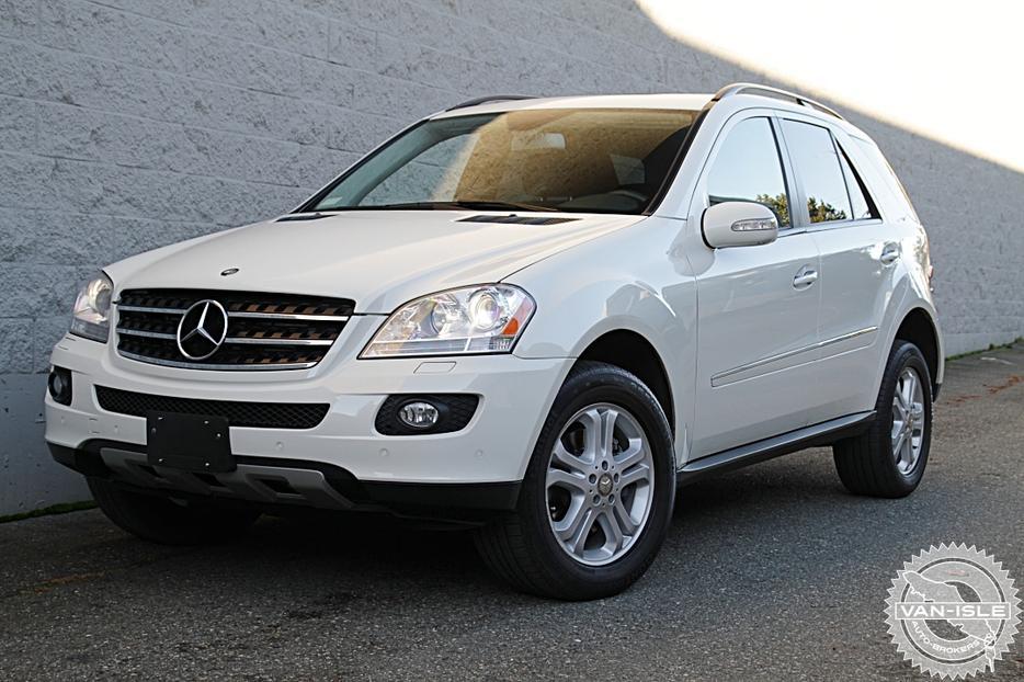 36 000km 2008 mercedes benz ml320 cdi diesel outside comox for Mercedes benz ml320 cdi