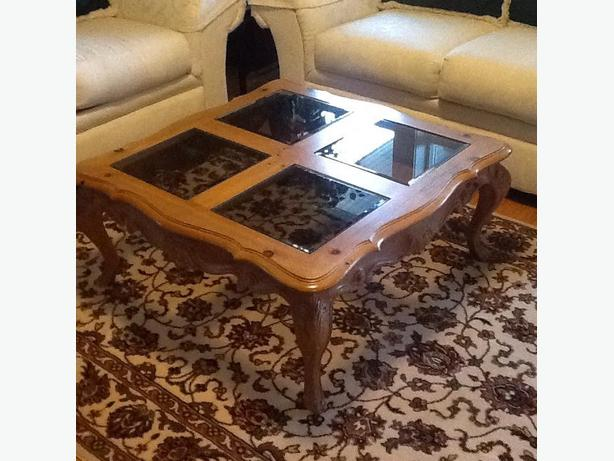 Curio And Coffee Table West Shore Langford Colwood