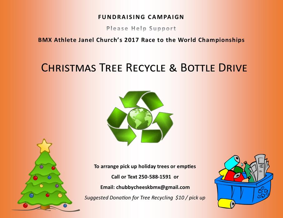 Christmas Tree Recycling Abbotsford : Christmas tree recycling bottle drive west shore