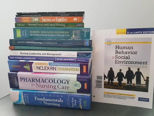 Bachelor of Science Nursing Textbooks for Sale
