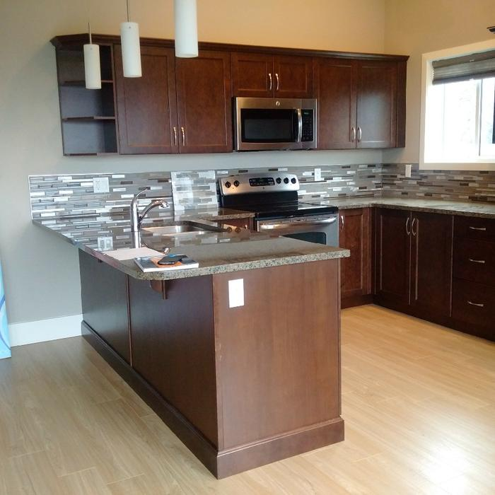 Custom Kitchen,appliances and Granite countertop North Nanaimo ...