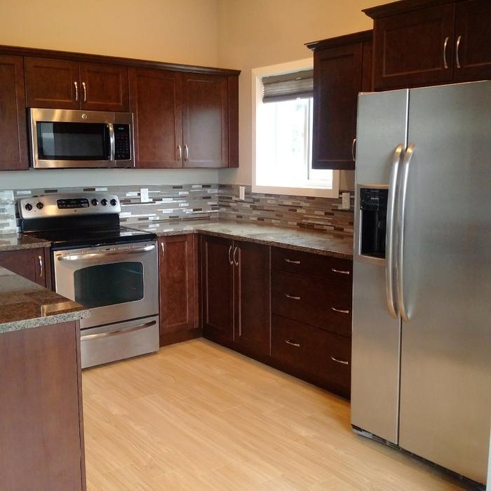 Custom Kitchen,appliances and Granite countertop North Nanaimo ...